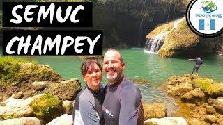 Visiting Semuc Champey Guatemala |  Caving (2019) Backpacking Central America