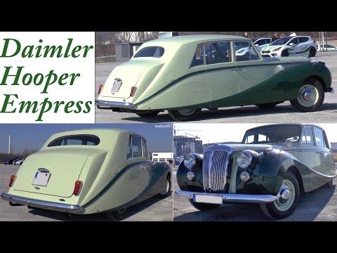 RARE Daimler Hooper Empress II on the road - sehr selten auf der Straße
