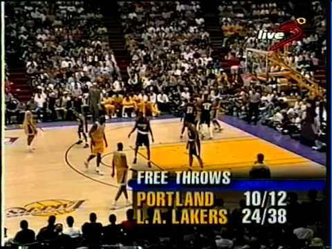 Rick Fox (24pts/5rebs/3asts) vs Trail Blazers (1998 Playoffs)