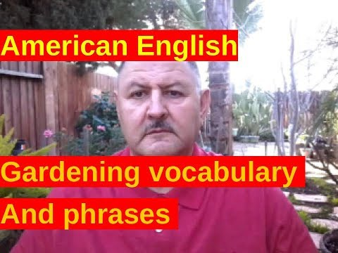 Aprender ingles rapido y facil gardening vocabulary for Aprender jardineria