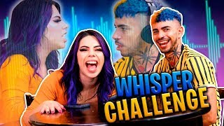 Whisper Challenge a la Mexicana | Lizbeth VS Jaime