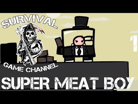 Super Meat Boy Прохождение На Русском #1 — БЕЗ МАТА
