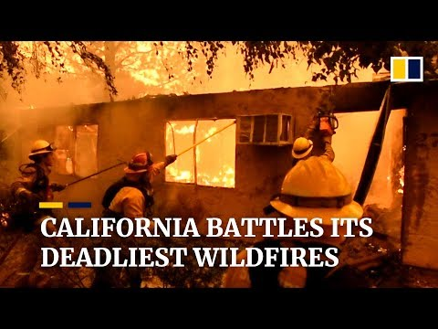 Paradise lost: Southern California battles deadliest wildfires Mp3