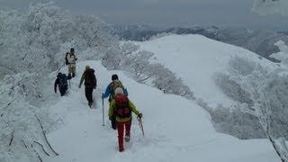 2013年2月17日 樹氷の綿向山