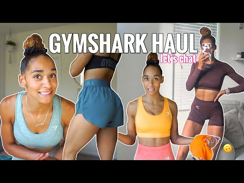 NEW GYMSHARK PIECES | Vital Rise, New Training Shorts, Sports Bras, Try On & Review