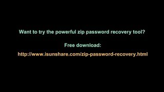 How to Recover Lost ZIP Password to Open Encrypted ZIP File