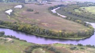Полет с камерой Пироговка Десна(Съемка поймы Десны с высоты птичьего полета в районе Пироговки., 2011-09-19T11:10:09.000Z)