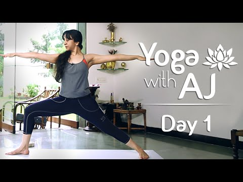 Yoga For Posture Correction | Day 1 | Yoga For Beginners - Y