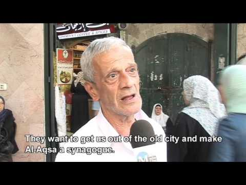 Tensions in Jerusalem's Old City