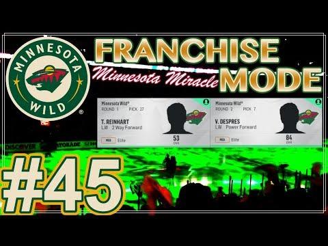 NHL 18 Minnesota Wild Franchise Mode #45