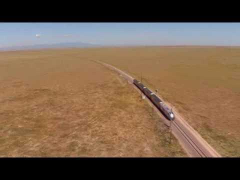 Siemens Charger locomotive on test