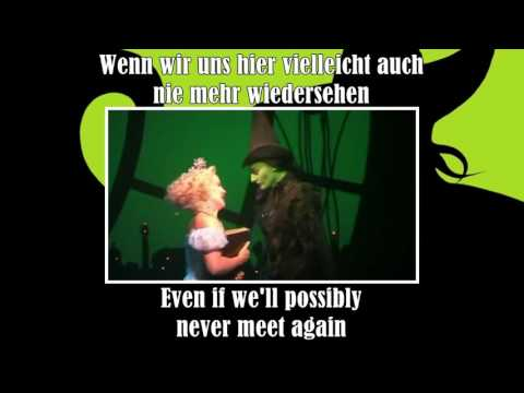 Wicked - For Good - German + Translation
