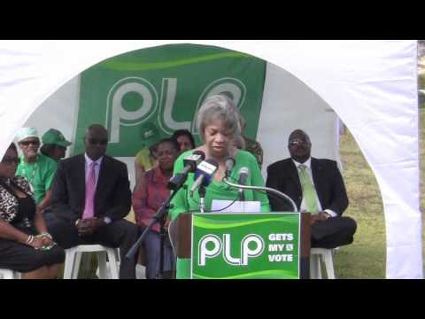 PLP Confirm Candidate Dame Jennifer Smith May 16 2012