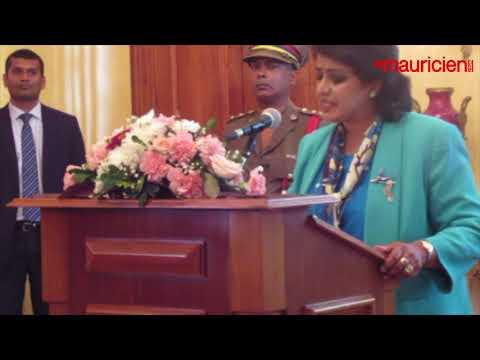 Déclaration de la Présidente de la République Ameenah Gurib Fakim 07.03.18