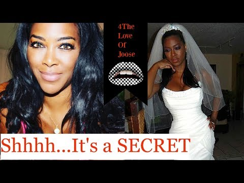 Kenya Moore SECRETLY MARRIED! (receipts) +Nicki Minaj and Remy Drama
