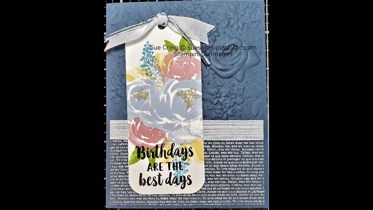 Technique Tuesday-What is masking and How to do it in card making