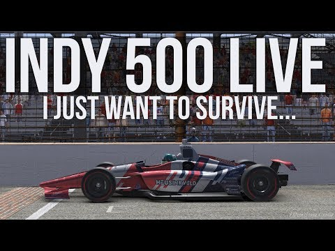 IRacing - INDY 500 LIVE | Full Race (Hopefully)