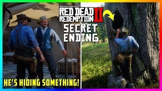 Arthur Builds A Railroad During This SECRET Mission With A HIDDEN Ending In Red Dead Redemption 2!