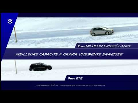 Comparatif pneu Michelin CrossClimate vs pneu été Michelin Energy Saver plus