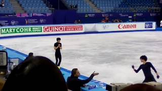 Yuzu is a paragon of good manners on ice (yuzu expressed his sorry ...