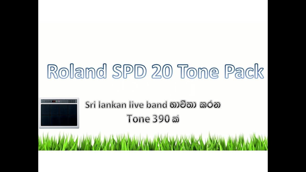 How To Download Roland SPD 20 Tone And Sample free