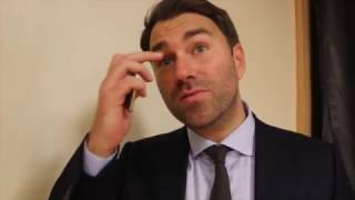 EDDIE HEARN REACTS TO McDONNELL'S DEFEAT TO VARGAS, COYLE/CAMPBELL WINS, DAVE ALLEN & HAYE-BELLEW