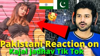 Pakistani React on Kajal Jadhav Latest TIKTOK VIDEOS | Indian TikToker | Reaction Vlogger
