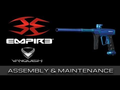 Empire Paintball® Vanquish GT I Assembly & Maintenance