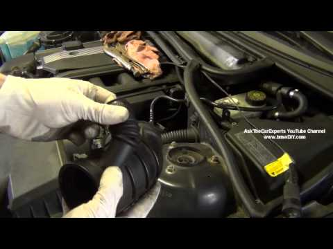 BMW Common Air Leak Locations M52TU M54 Mixture Too Lean - YouTube