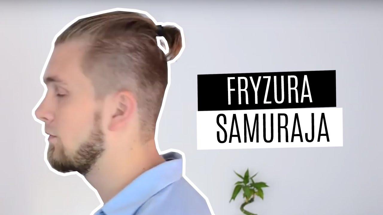 Jak Układać Włosy Top Knot Hairstyle Fryzura Samuraja Wikinga Poradnik Tutorial
