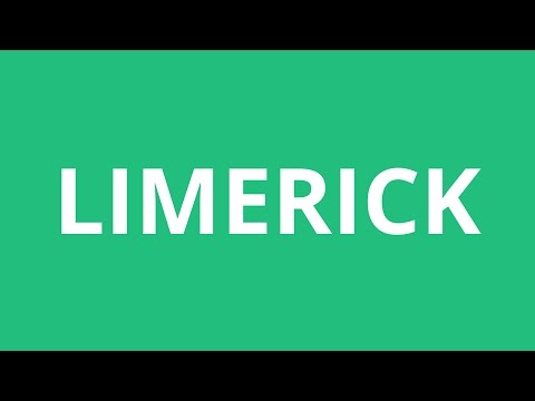 How To Pronounce Limerick - Pronunciation Academy