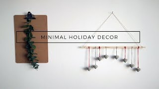 DIY CHRISTMAS DECOR | CONCRETE ORNAMENTS