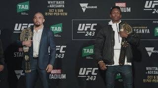 UFC 243: Media Day Faceoffs