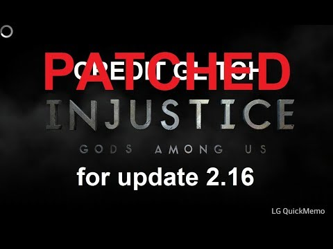 Injustice Mobile 2.16 New Credit Glitch on Android & iOS