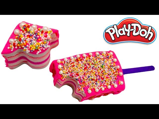 Play Doh Giant Birthday Cake Ice Cream Popsicle | Learn Colors with play-doh |