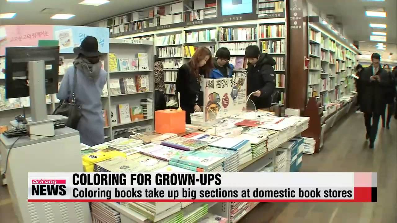 Koreas new trend of coloring books for grownups