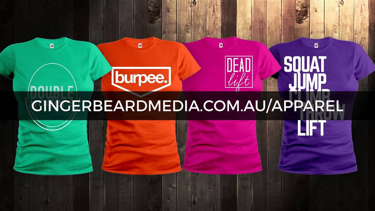 gingerbeard t shirt advert youtube. Black Bedroom Furniture Sets. Home Design Ideas