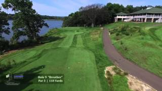 Aerial Tour of Mississippi Dunes Golf Links in Cottage Grove Minnesota
