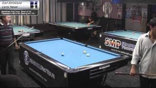 Earl Strickland vs Larry Nevel at Capone's Billiards on the Seminole Pro Tour