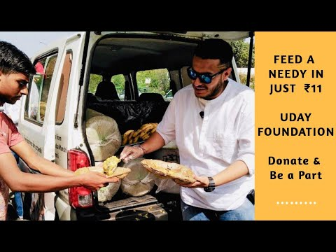 Feed a Needy in Just ₹11 | Uday Foundation | Join the Initiative