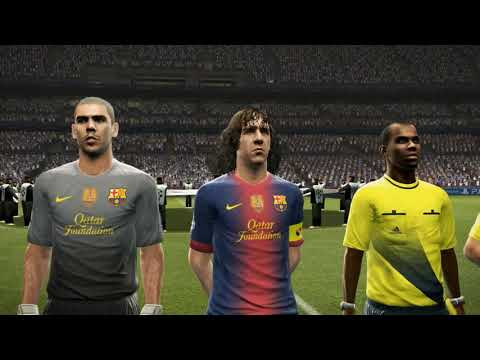 PES 2013 UEFA Champions League Final (FC Barcelona vs Real Madrid Gameplay)