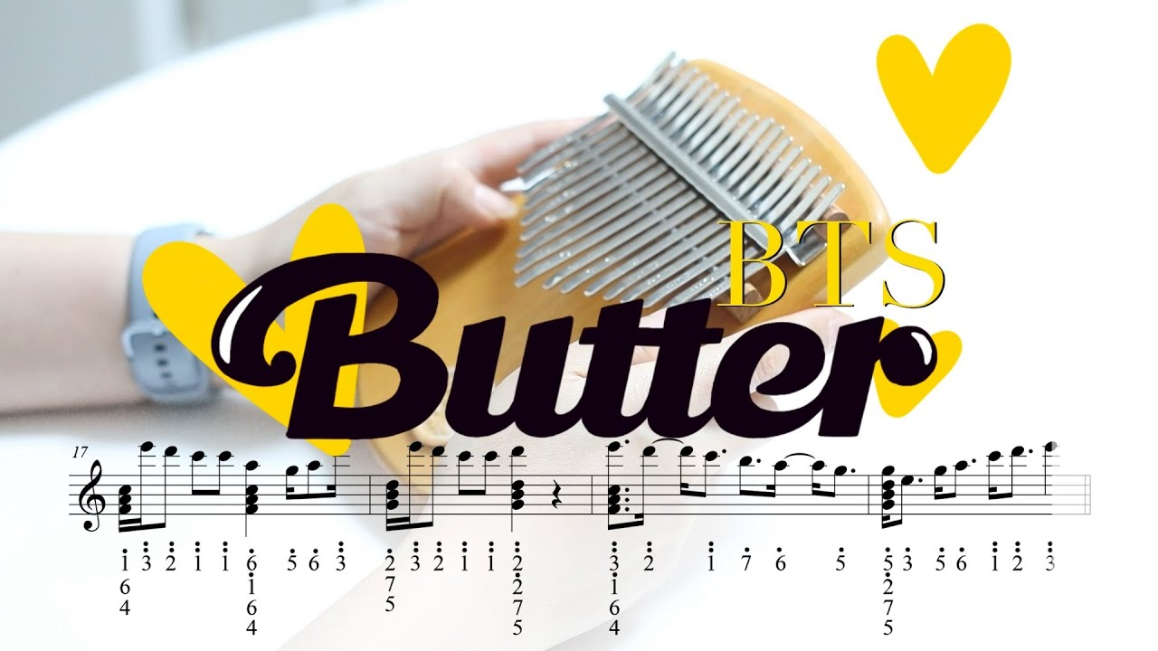 Butter-방탄소년단(BTS)(Kalimba cover with tabs)(Tutorial)
