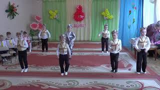 Классный танец мальчиков роботов на 8 марта средняя группа