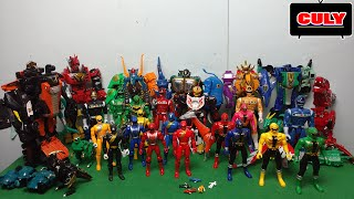 power rangers & megazord collection figures