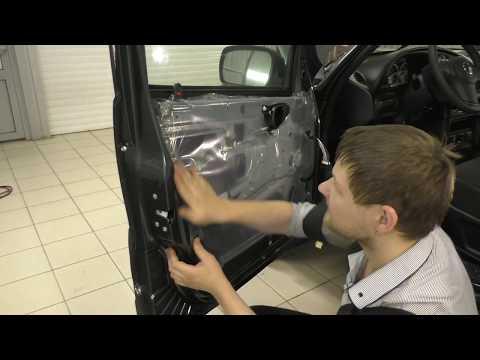 Как снять обшивку водительской двери шевроле нива