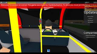 (Roblox) Route 381| Rocky Hills Terminal 1A - Abbey Hall Lane