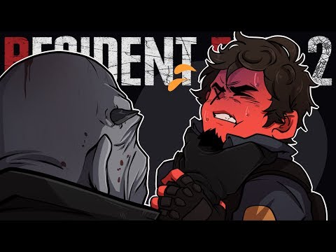 HERE COMES BIG DADDY! | Resident Evil 2 (Leon's Story Live Stream 3)