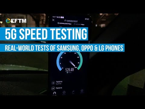 5G Phones Tested: Telstra 5G Speeds Tested - Oppo, Samsung &