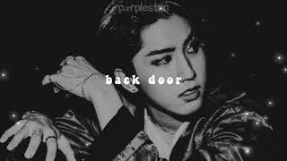 stray kids - back door (𝒔𝒍𝒐𝒘𝒆𝒅 + 𝒓𝒆𝒗𝒆𝒓𝒃)