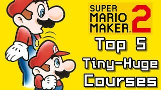 Super Mario Maker 2 Top 5 TINY-HUGE Courses (Switch)
